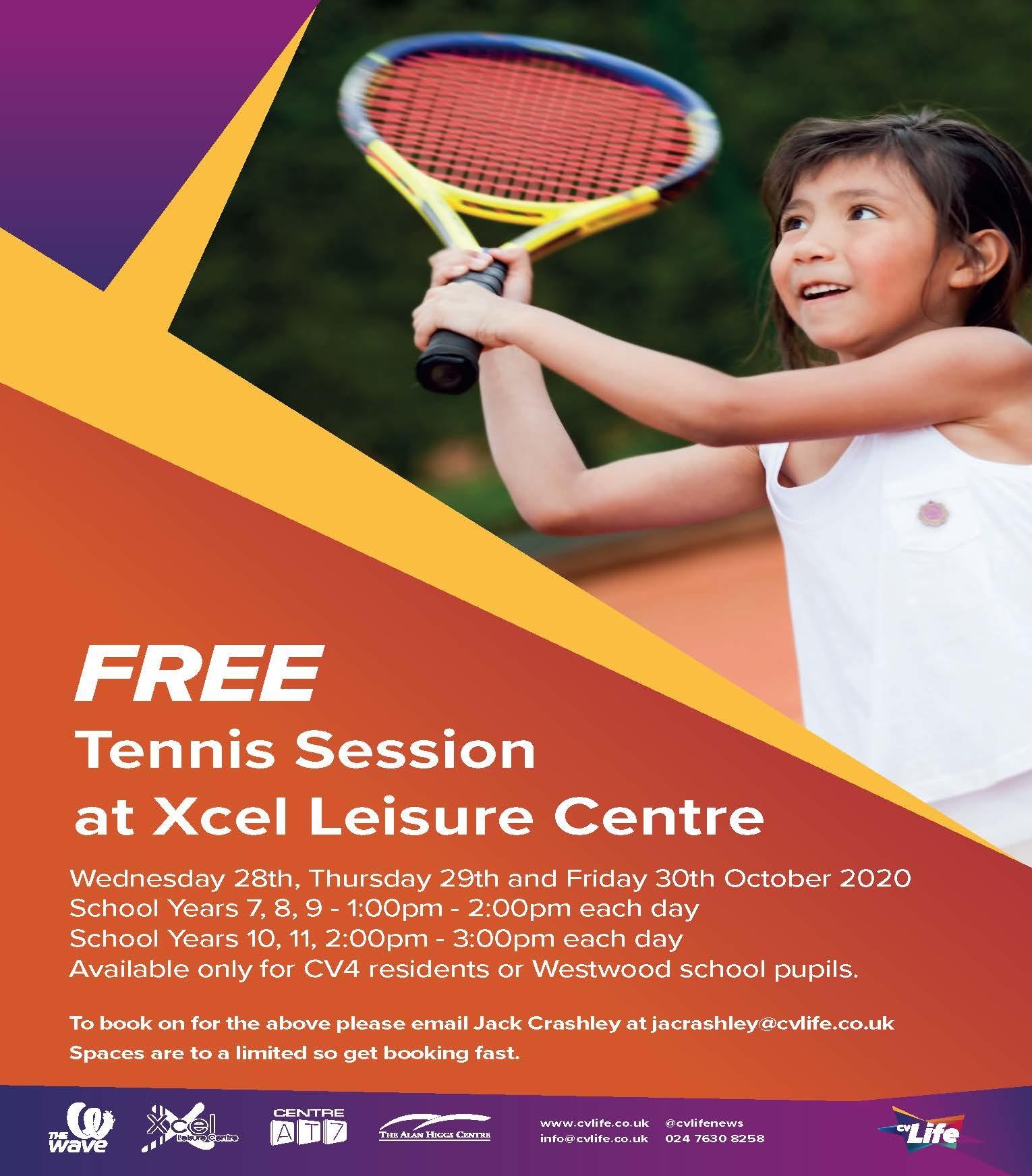 Tennis oct ht poster